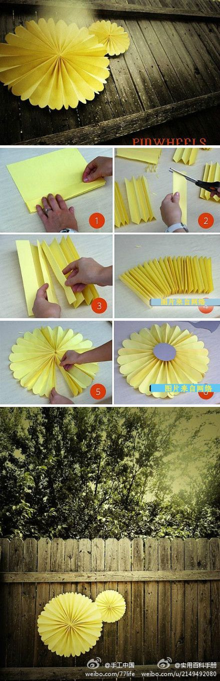 extraordinary-smart-diy-paper-wall-decor design4