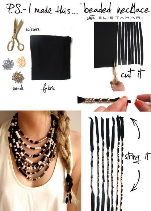how to make statement jewelry tutorial