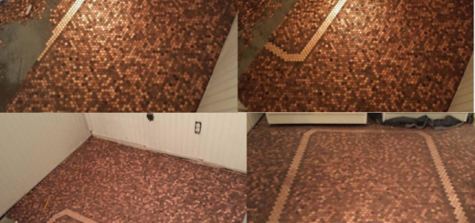 penny floor installation