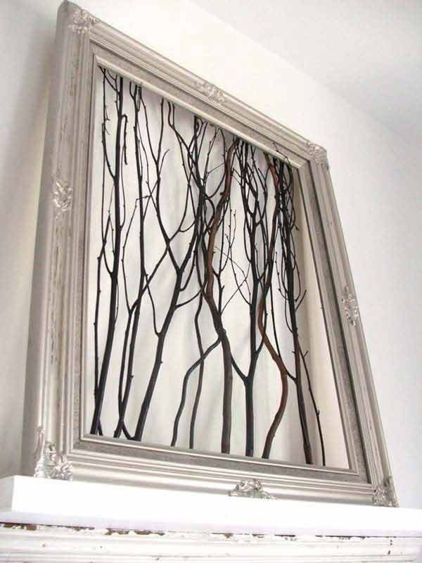 41 diy ideas to brilliantly reuse old picture frames into home decor wall art from frame picture frames diy ideas2 solutioingenieria Gallery