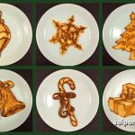 DIY Christmas Festive Pancakes. This Dad Makes Creative Pancakes.