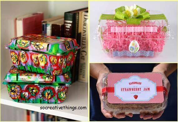 Diy Packing With Recyclable Materials on Diy Cupcake Box