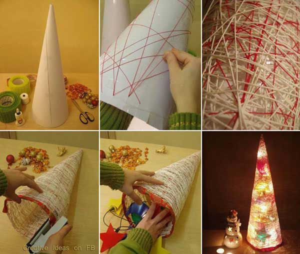 Simple Christmas Home Decorations: 61 Easy And In Budget DIY Christmas Decoration Ideas: Part