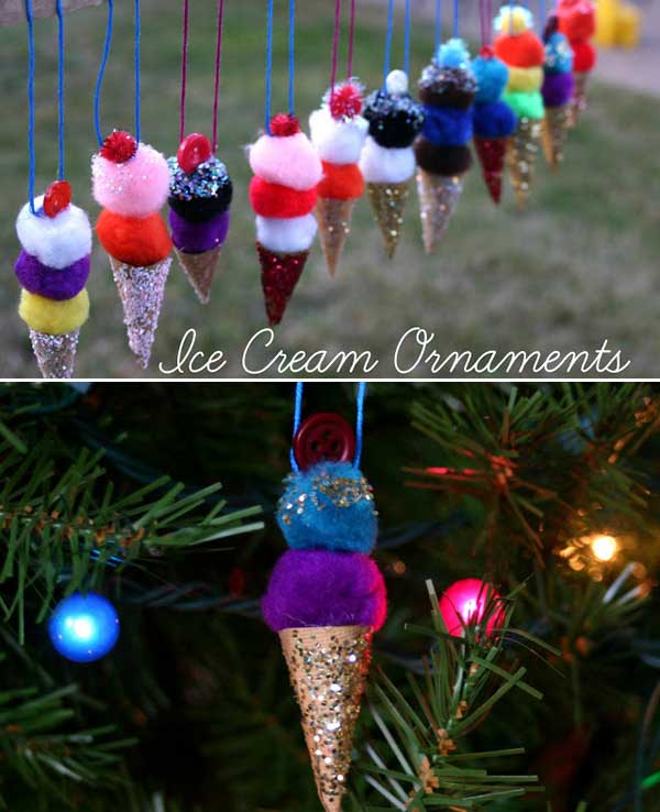 diy homemade christmas decorations gift ideas - Cute Homemade Christmas Decorations