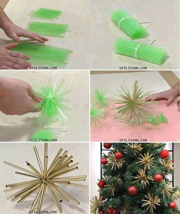 diy homemade christmas decorations gift ideas16