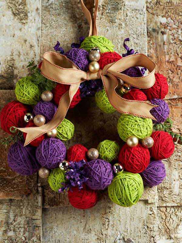DIY homemade Christmas decorations gift ideas18