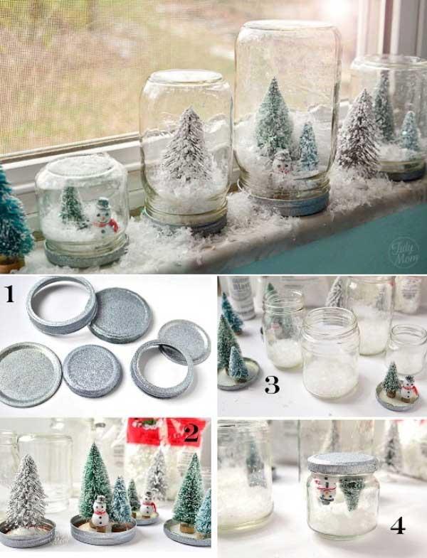 DIY homemade Christmas decorations gift ideas21