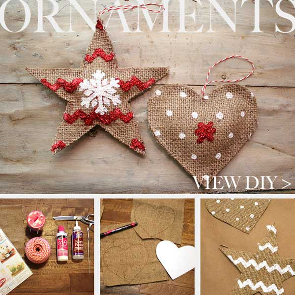 diy homemade christmas decorations gift ideas - Homemade Christmas Ornament Ideas