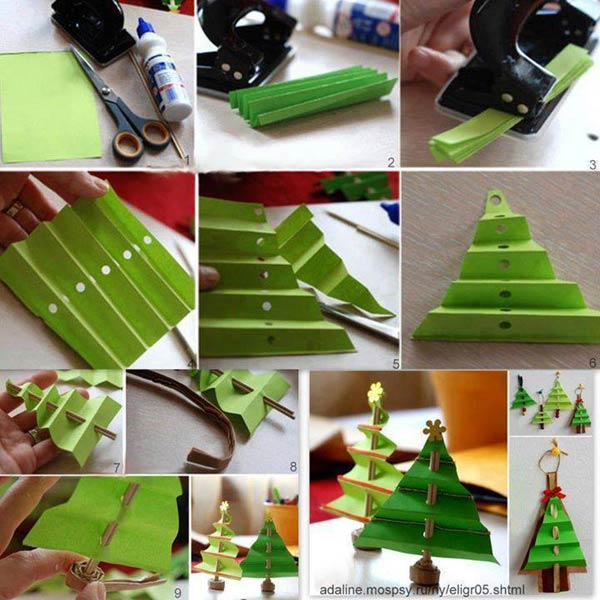 DIY homemade Christmas decorations gift ideas