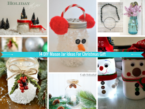 These 14 DIY Mason Jar Ideas Will Give A Personal Touch to Your Christmas Holiday!