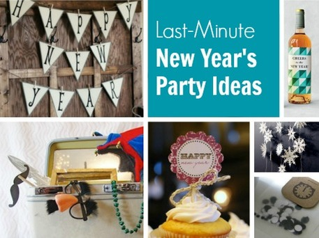 40 diy ways to host the best new year s party ever part ii - Last minute new year s eve party ideas ...
