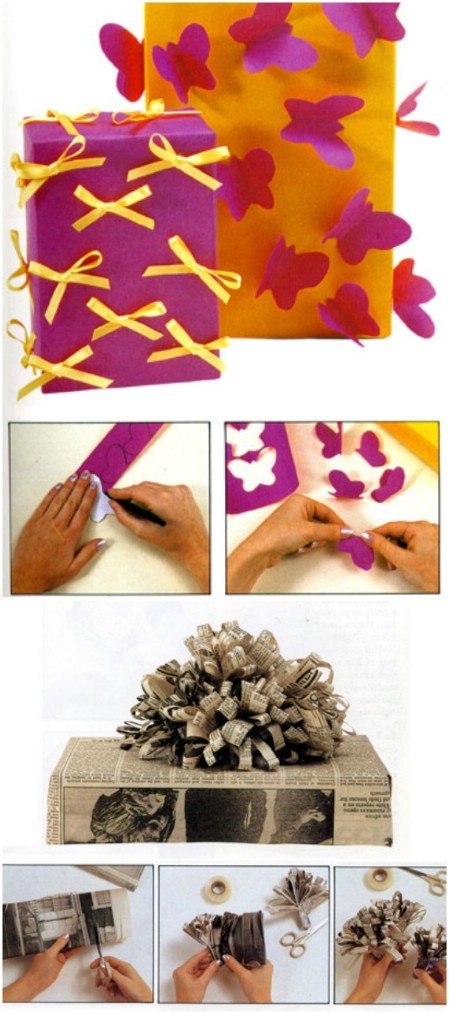 diy gift wrapping tutorial