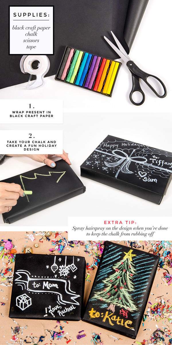 diy creative gift wrapping ideas for christmas2