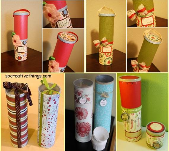 25 adorable and creative diy gift wrap ideas for Creative ideas for home decoration from waste materials