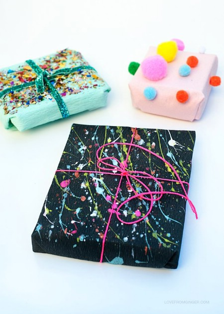diy-creative-gift-wrapping-tutorial pm pom