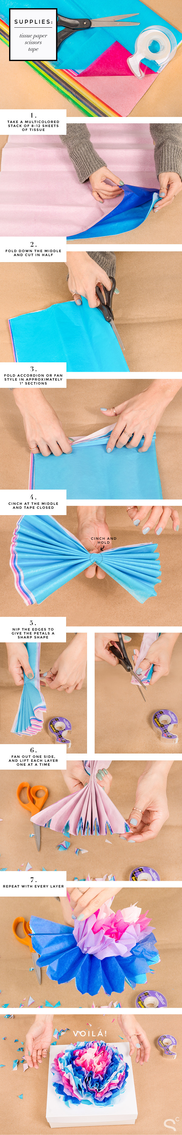 diy-gift-wrapping-packaging-ideas-paper-flower