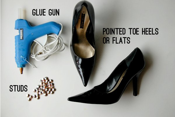 diy studs and spikes for shoes
