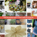 8 Easy DIY Recycling Crafts. Its Time to Empty Your Recycle Bin. Part II