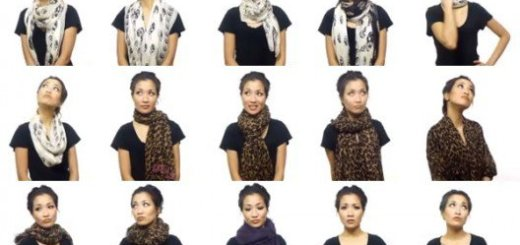how to wear a scarf how to tie a scarf