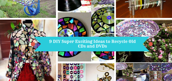 9 Diy Super Exciting Ideas To Recycle Old Cds And Dvds Sad To