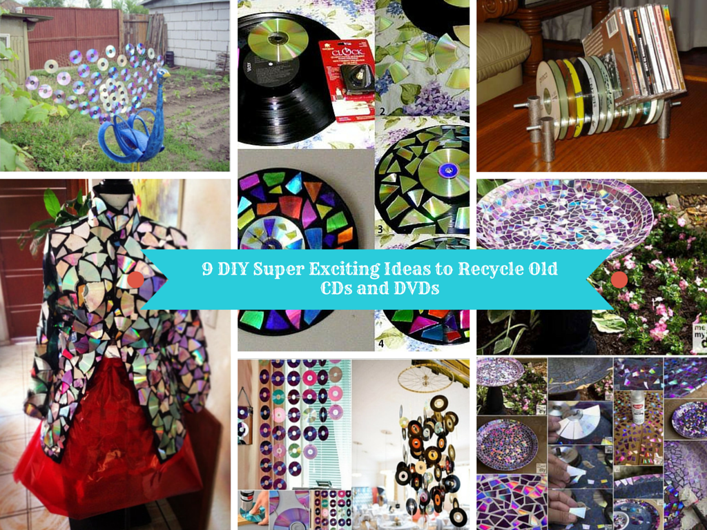 9 Diy Super Exciting Ideas To Recycle Old Cds And Dvds Sad To Happy Project