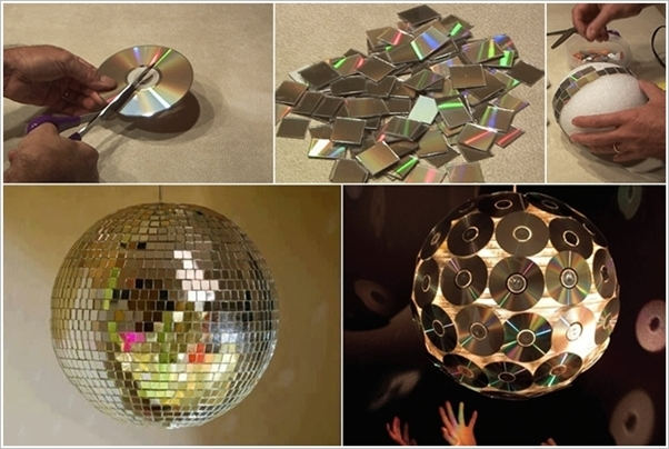 9 DIY Super Exciting Ideas to Recycle Old CDs and DVDs ...