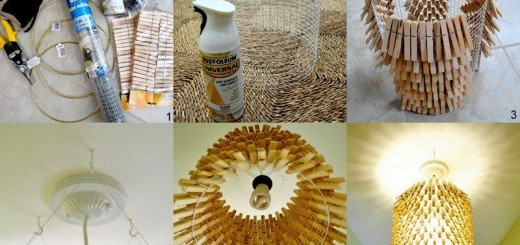 DIY-Homemade Chandelier