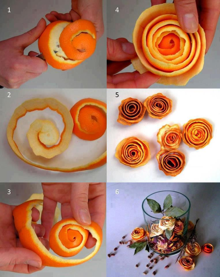Superb Homemade Home Decor Ideas Part - 14: Diy Orange Scented Candle Kit