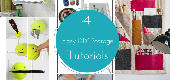 4 Easy Diy Storage Ideas Tutorials