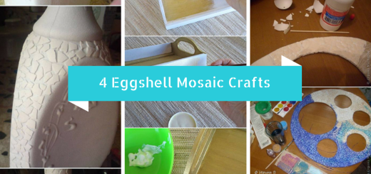 eggshell mosaic craft