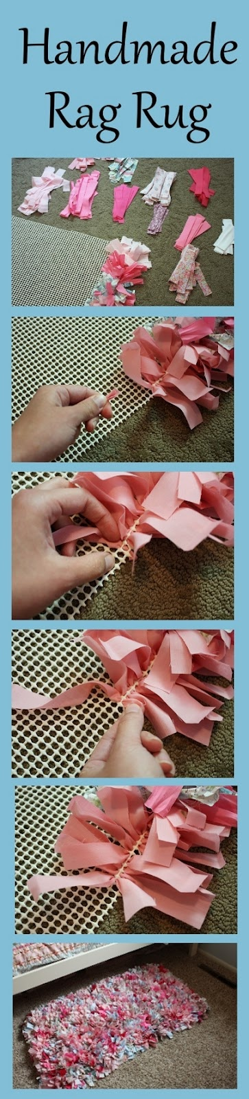 Easy Cheap Diy Home Decorating Ideas Part - 32: Handmade Rag Rug Tutorial