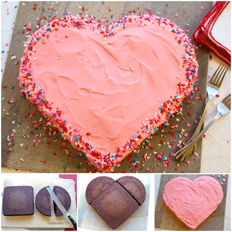 Easy Home Cake Decorating Ideas Part - 37: Valentines Day Cake Decorating Ideas