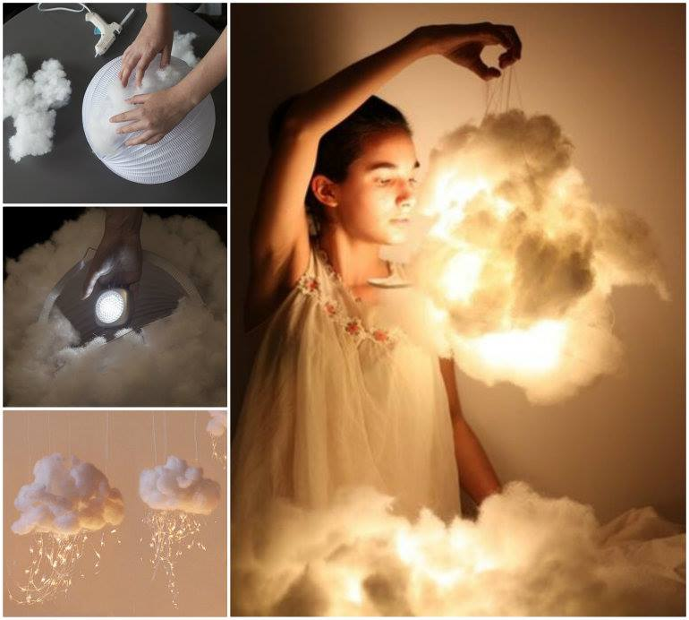 Cool Diy Bedroom Lighting Decoration Ideas: 3 Cool Tutorials On How To Make A Cloud At Home. Its So Cool