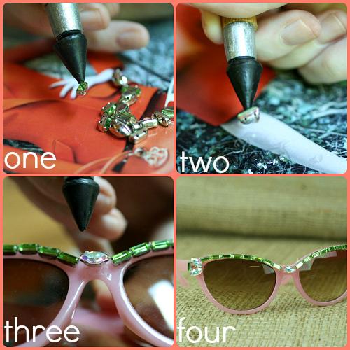 diy crazy sunglasses