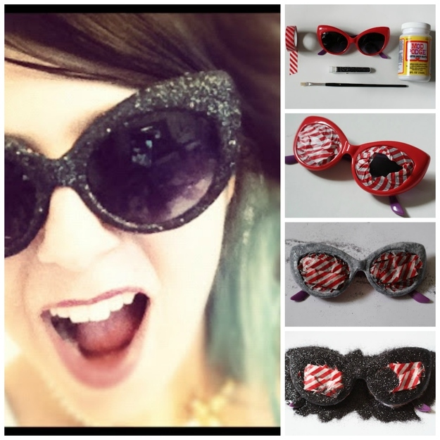 7 DIY Sunglasses Tutorials To Get Rid of Old Sunglass
