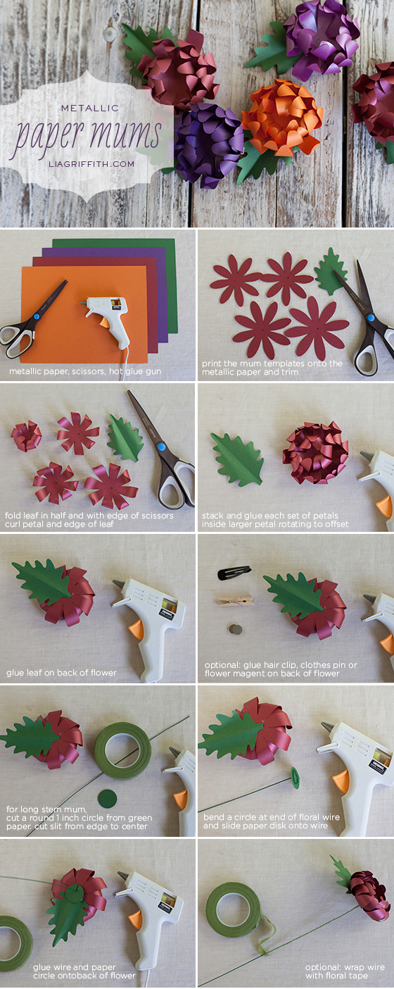 How to make tissue paper flowers 14 excellent ways check out the full tutorial diy paper flowers mightylinksfo Gallery
