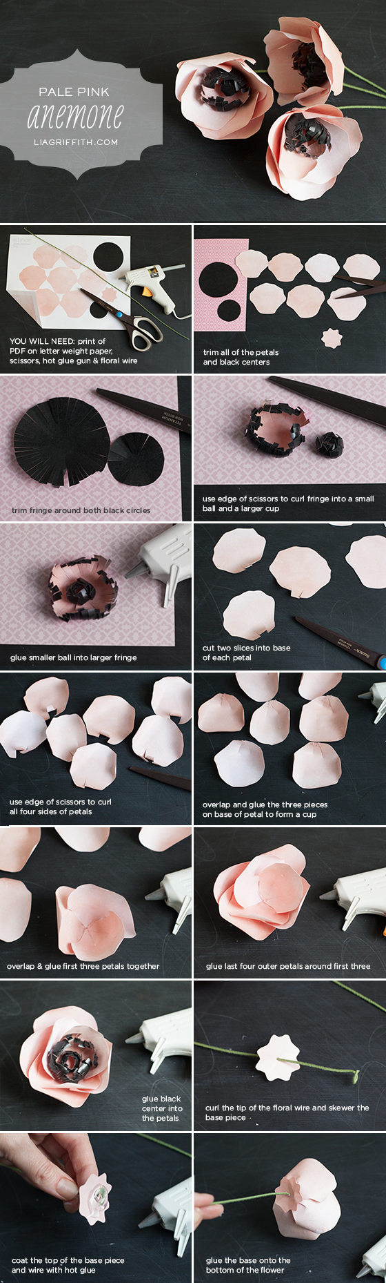 tissue paper flowers diy