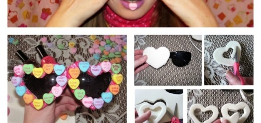 diy party sunglasses frame