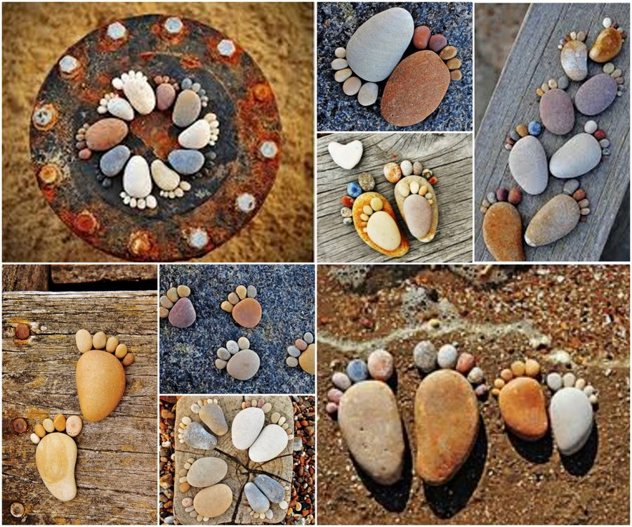 Stone Decoration Ideas : Handmade cheap garden decor ideas to upgrade