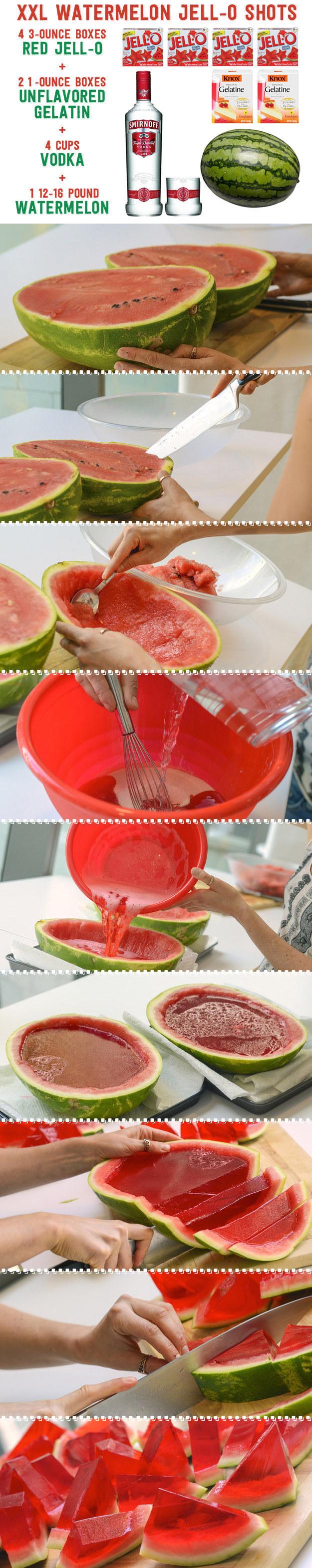 easy jello shot recipes watermelon