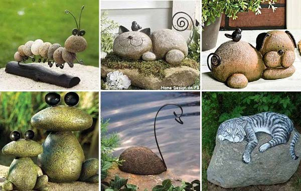 19 handmade cheap garden decor ideas to upgrade garden for Garden decorations to make