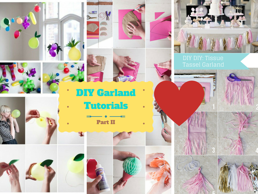 Top 3 Unique Handmade Garland Decoration Ideas: Part 2