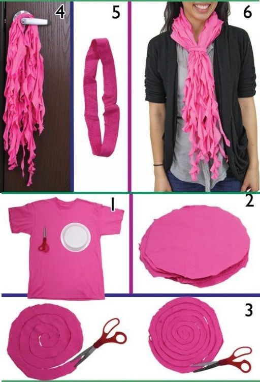 Crafts To Make With Old T Shirts