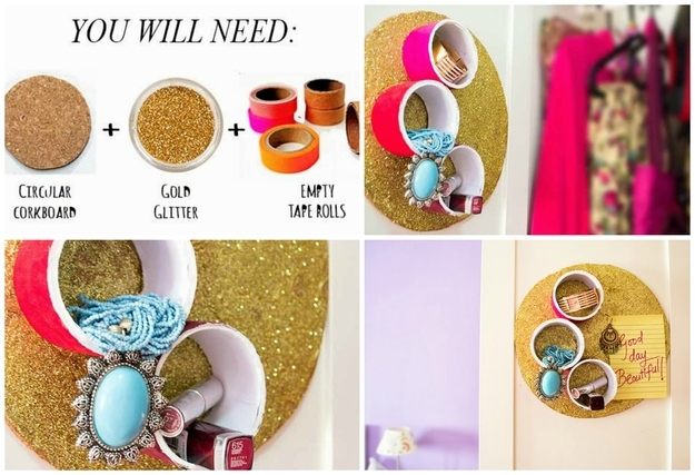 how to make diy jewelry holder at home