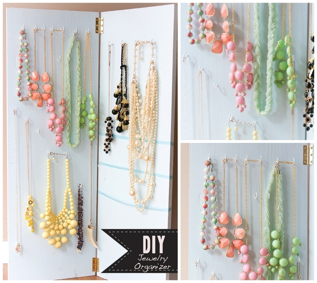how to make diy jewelry holder tutorials