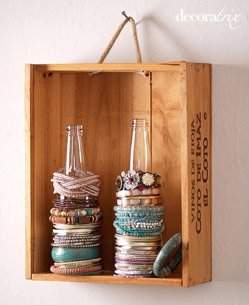 how to make jewelry organizer