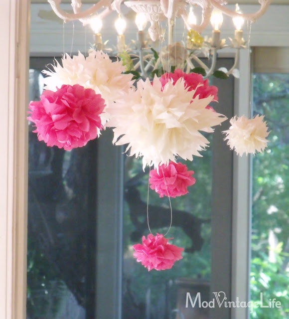 tissue paper flowers diy 1