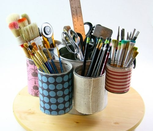 14 creative handmade ways to reuse empty tin can part 1 for Tin cans for crafts