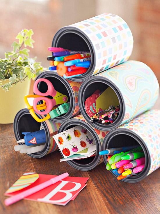 DIY Handmade Tin Can Crafts and Projects Reuse of Tin Cans11
