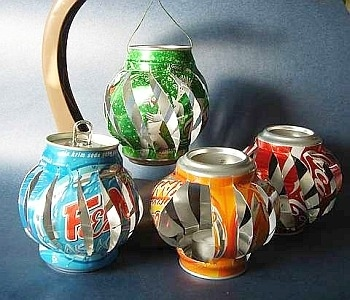 DIY Handmade Tin Can Crafts and Projects Reuse of Tin Cans2